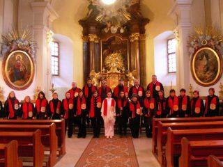 Vystoupení sboru PATRON