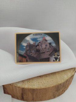 Magnetka hrad Pernštejn 3D