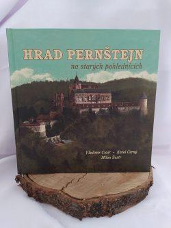 """Kniha """"Hrad Pernštejn na starých pohlednicích"""""""