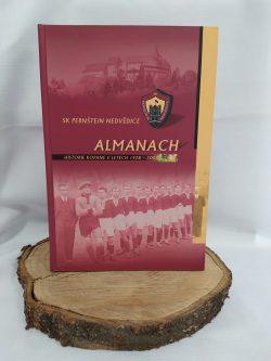"""Kniha """" Almanach SK Pernštejn Nedvědice"""" (1928-2003)"""