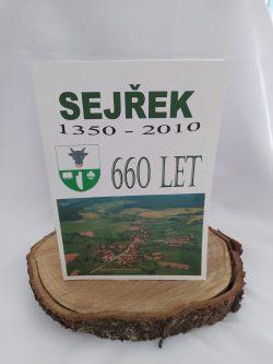 """Kniha """"Sejřek 1350-2010"""""""